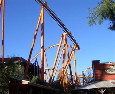 Tatsu - Six Flags Magic Mountain, CA - Roller Coasters on ...