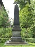 Image for Kriegerdenkmal im Schloßpark - Deutsch-Französischer Krieg 1870/71 — Rotenburg a. d. Fulda, Germany