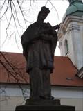Image for Socha Svatý Jan Nepomucký - Bzenec, Czech Republic