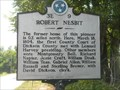 Image for Robert Nesbit  Tennessee Historical Marker