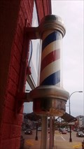 Image for Captain's Corner Barber Pole - Sparta, WI, USA