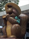 Image for Praline-Munching Squirrel Statue - Sinton, TX