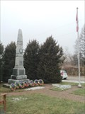Image for War Memorial, Newtonville, Ontario