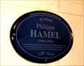 Image for La plaque bleue de Philippe Hamel-Québec,Canada