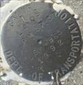 Image for Caltrans LA05 PM87.37 LS 4965 1992 Disk - Frazier Park, CA