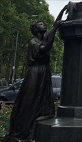 Image for Supporting figures of Henry Ward Beecher - Brooklyn, NY
