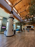 Image for St. Simons Lighthouse replica at the Georgia Welcome Center - Port Wentworth, Georgia