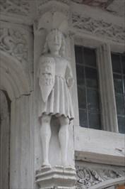 ...carved figure.