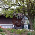 Image for Earth Globe at a Farm - Sissach, BL, Switzerland