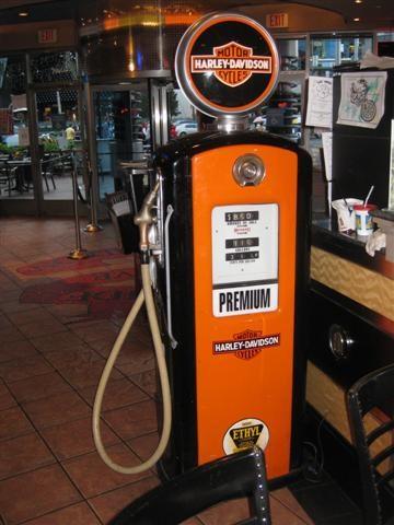 Harley Gas Pump - Las Vegas, NV (Legacy) - Vintage Gasoline Pumps on