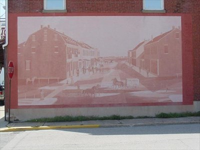 Old Downtown Mascoutah Mural
