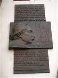 Image for Albert Einstein plaque - Praha, Czech republic