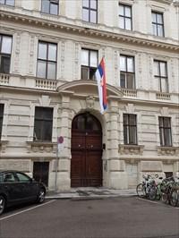 Botschaft Republik Serbien in Wien - Eingang