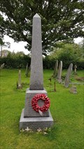Image for Memorial Obelisk - St James - Ab Kettleby, Leicestershire