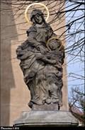 Image for St. Anne at St. Martin Church / Sv. Anna pred kostelem Sv. Martina - Horní Vidim (Central Bohemia)