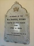 Image for Reverend Daniel Stone - Augusta, ME