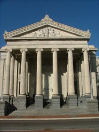 With Reunification New Orleans Becomes >> Gallier Hall New Orleans La U S National Register Of Historic