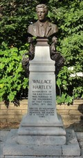 Image for Bust Of Wallace Henry Hartley - Colne, UK