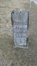 Image for L190 Vorarlberg Straße milestone - Nenzing Heimat, Vorarlberg, Austria