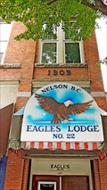 Image for ONLY - Eagles Aerie in its original building - Nelson, BC