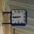 Image for Clock at the Praha-Uhríneves railway station - Czechia