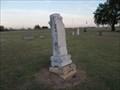 Image for A.H. and Electia Dresh - Ninneka Cemetery - Ninneka, OK