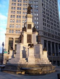 Soldiers And Sailors Monument Detroit Mi American