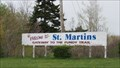 Image for St. Martins: Gateway to the Fundy Trail - St. Martins, New Brunswick