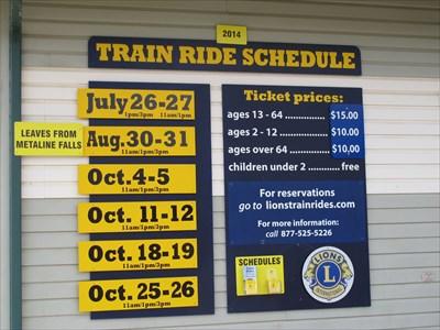 Heritage Train Rides