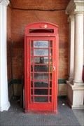 Image for Red Telephone Box - North Dulwich Station, London, UK
