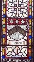 Image for Fowell Coat of Arms - St Mabyn's church - St Mabyn, Cornwall