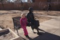 Image for Lady on Park Bench - Albuquerque, New Mexico