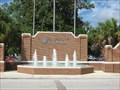 Image for Fountains at the entrance to University of Florida