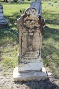 Image for OLDEST Marked Grave in Belle Plaine Cemetery - Belle Plaine, TX