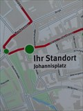 Image for You are here - Johannisplatz in Gera/Thuringia/Germany