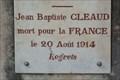 Image for Jean Baptiste CLEAUD - Ameugny, France