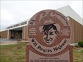 Image for Will Rogers Highway - Route 66 Marker - Claremore, Oklahoma, USA.