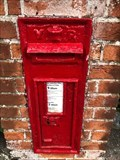 Image for Victorian Wall Post Box - High Salvington, near Worthing, West Sussex, UK