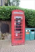 Image for Red Telephone Box - Royal Parade, Chislehurst, UK
