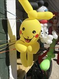 Image for Lemos Farm Pikachu Balloon - Half Moon Bay, CA