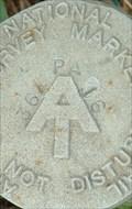 Image for AT - PA 364 16 - Appalachian Trail Survey Marker - Cumberland County, PA