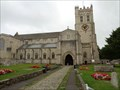 Image for Christchurch Priory Church - Dorset, UK.