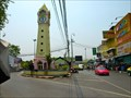 Image for Riverside Town Clock—Nonthaburi, Thailand.