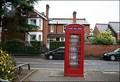 Image for Broad Walk phone box, Stratford upon Avon, Warwickshire, UK