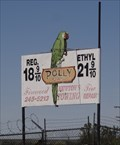 Image for Polly Gas sign - Helendale, CA