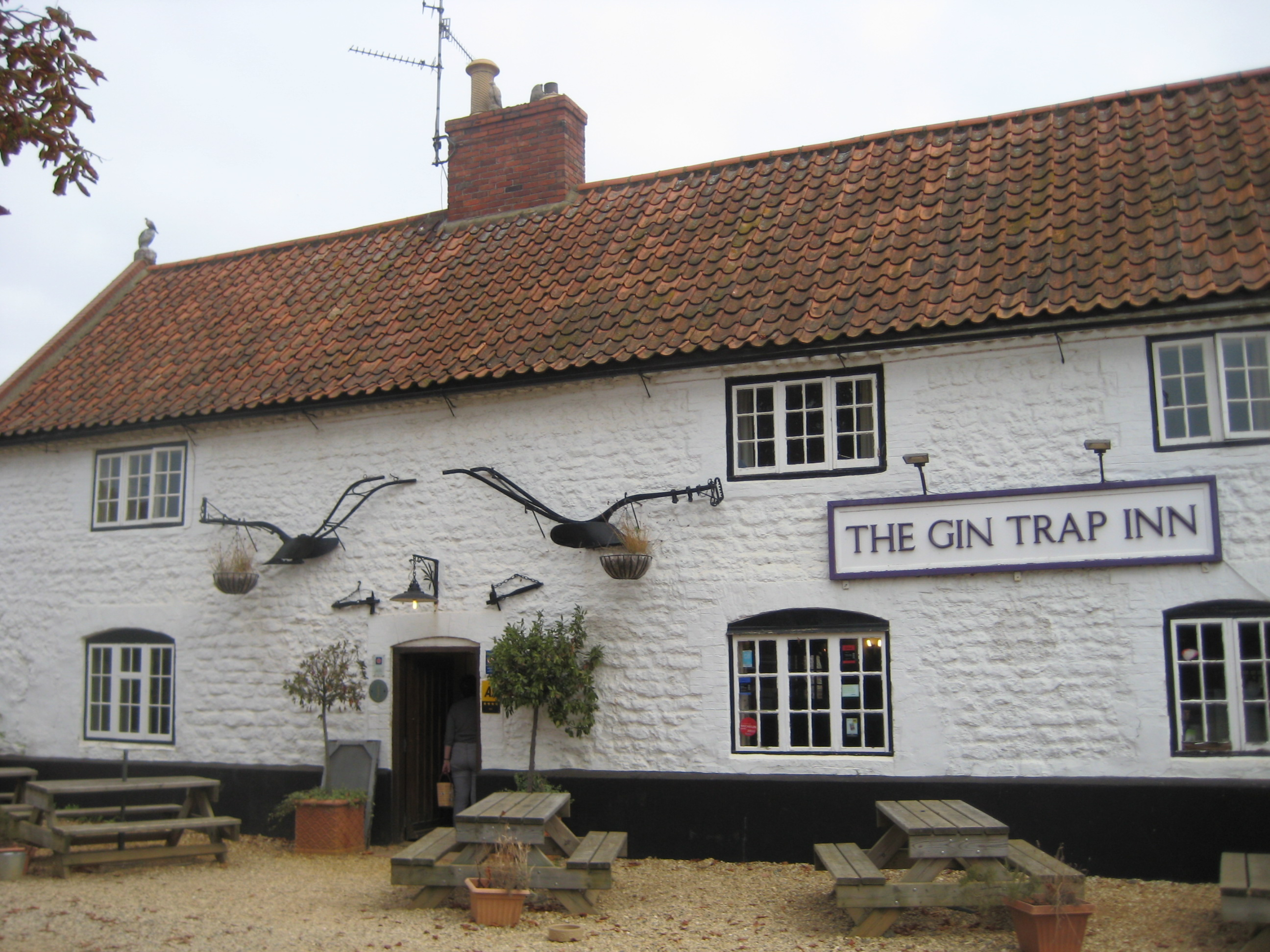 The Gin Trap Ringstead Norfolk Image