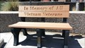 Image for Vietnam War Memorial - Veterans Memorial Bench - Sparks Memorial Park - Sparks, NV