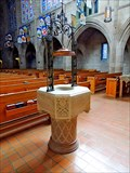 Image for Cathedral of St. John the Evangelist Font - Spokane, WA