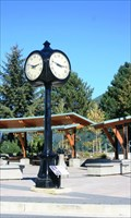 Image for Don Ramsay Memorial Clock — Harrison Hot Springs, BC