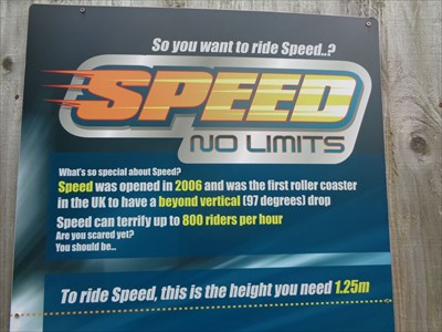 Speed: No Limits.